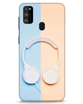 Shop Hazey Headphone Samsung Galaxy M30s Mobile Cover-Front