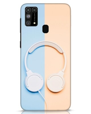 Shop Hazey Headphone Samsung Galaxy M31 Mobile Cover-Front