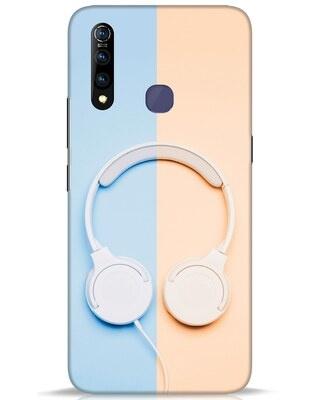 Shop Hazey Headphone Vivo Z1 Pro Mobile Cover-Front
