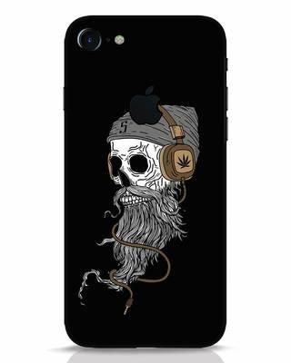 Shop Headphone Jack iPhone 7 Logo Cut Mobile Cover-Front