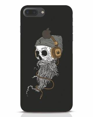 Shop Headphone Jack iPhone 7 Plus Logo Cut Mobile Cover-Front