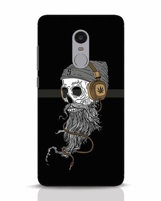 Shop Headphone Jack Xiaomi Redmi Note 4 Mobile Cover-Front