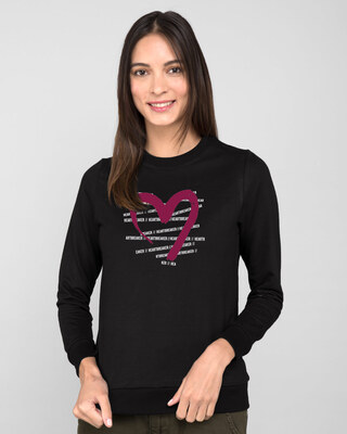 Shop Heartbreaker Fleece Light Sweatshirt-Front