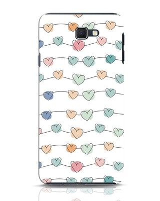Shop Hearts Samsung Galaxy J7 Prime Mobile Cover-Front