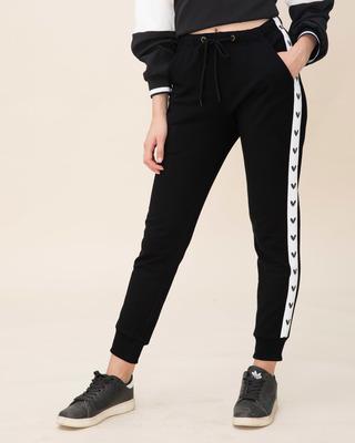 0ea4fcc4a91b9e Black Women's Joggers & Sweatpants - Buy Black Online - Bewakoof.com
