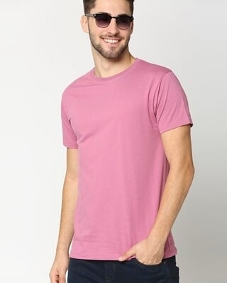 Shop Heather Rose Half Sleeves T-Shirt-Front