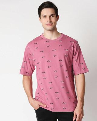 Shop Heater Rose No Never AOP Half Sleeve T-Shirt-Front