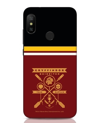 Shop Heir Of Godric Gryffindor Xiaomi Redmi Note 6 Pro Mobile Cover-Front