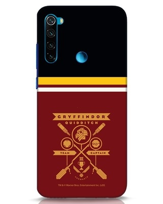 Shop Heir Of Godric Gryffindor Xiaomi Redmi Note 8 Mobile Cover-Front