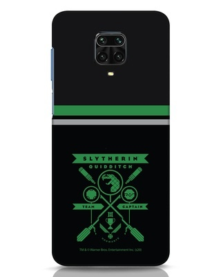 Shop Heir Of Salazar Slytherin Xiaomi Redmi Note 9 Pro Max Mobile Cover-Front