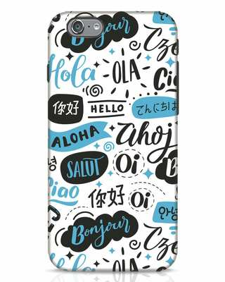 Shop Hello iPhone 6 Mobile Cover-Front