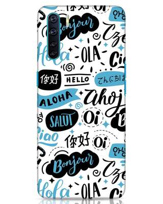 Shop Hello Oppo F15 Mobile Cover-Front
