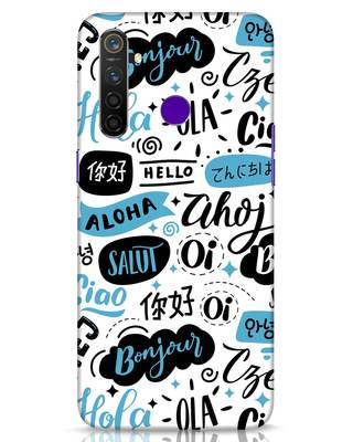 Shop Hello Realme 5 Pro Mobile Cover-Front