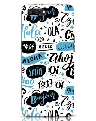 Shop Hello Realme C1 Mobile Cover-Front