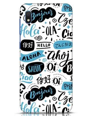 Shop Hello Samsung Galaxy A10 Mobile Cover-Front