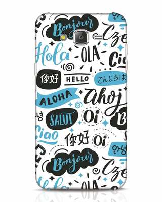 Shop Hello Samsung Galaxy J7 Mobile Cover-Front