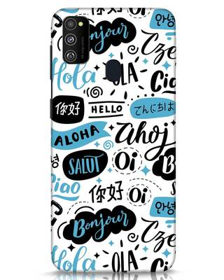 Shop Hello Samsung Galaxy M30s Mobile Cover-Front