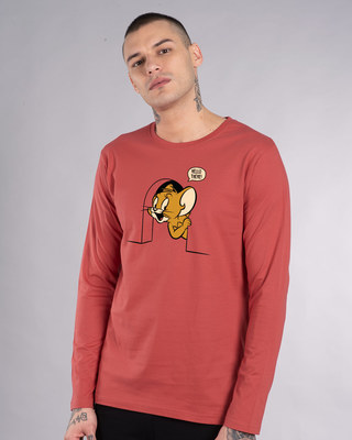 Shop Hello There Jerry Full Sleeve T-Shirt (TJL)-Front