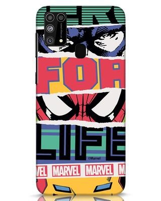 Shop Hero Samsung Galaxy M31 Mobile Cover-Front