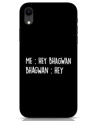 Shop Hey Bhagwan iPhone XR Mobile Cover-Front