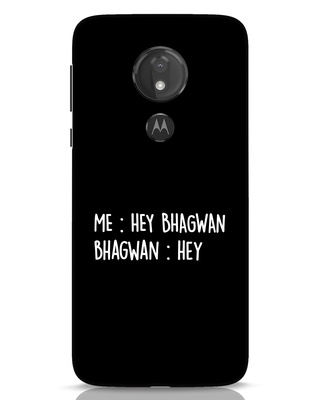 Shop Hey Bhagwan Moto G7 Power Mobile Cover-Front