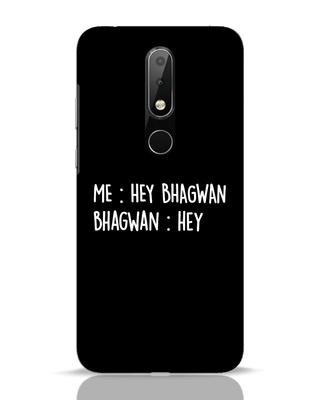 Shop Hey Bhagwan Nokia 6.1 Plus Mobile Cover-Front