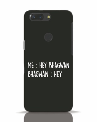 Shop Hey Bhagwan OnePlus 5T Mobile Cover-Front