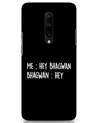 Shop Hey Bhagwan OnePlus 7 Pro Mobile Cover-Front