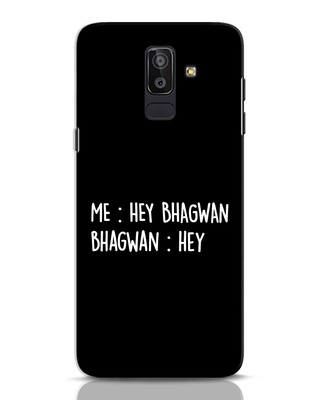 Shop Hey Bhagwan Samsung Galaxy J8 Mobile Cover-Front