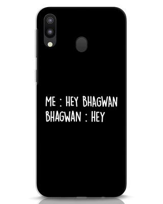 Shop Hey Bhagwan Samsung Galaxy M20 Mobile Cover-Front