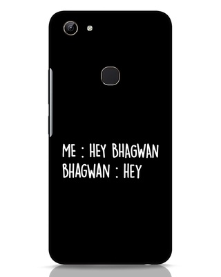 Shop Hey Bhagwan Vivo Y81 Mobile Cover-Front