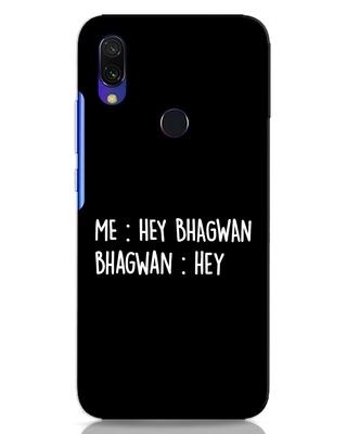 Shop Hey Bhagwan Xiaomi Redmi Y3 Mobile Cover-Front