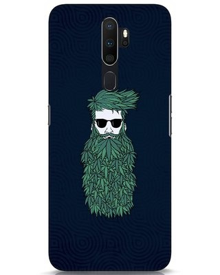 Shop High Beard Oppo A5 2020 Mobile Cover-Front