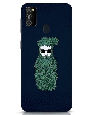 Shop High Beard Samsung Galaxy M30s Mobile Cover-Front