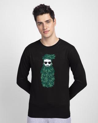 Shop High Beard Vintage Full Sleeve T-Shirt-Front