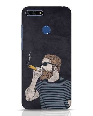 Shop High Dude Huawei Honor 7A Mobile Cover-Front