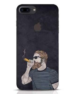 Shop High Dude iPhone 7 Plus Logo Cut Mobile Cover-Front