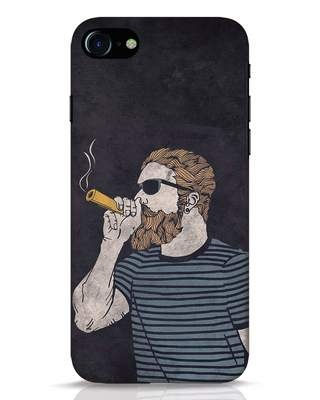 Shop High Dude iPhone 8 Mobile Cover-Front