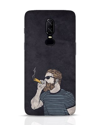 Shop High Dude OnePlus 6 Mobile Cover-Front