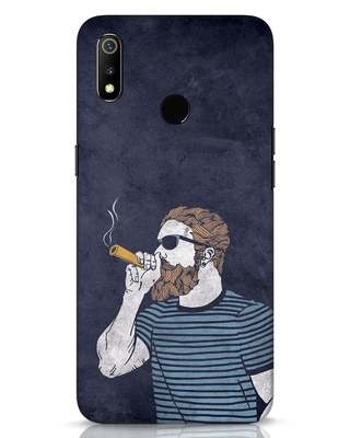 Shop High Dude Realme 3 Mobile Cover-Front