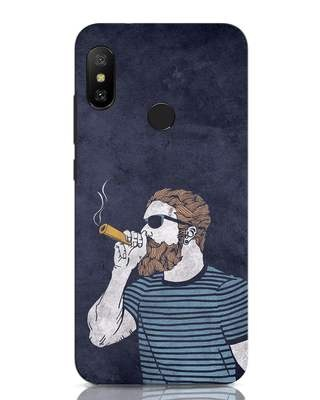 Shop High Dude Xiaomi Redmi Note 6 Pro Mobile Cover-Front