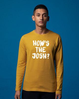 Shop High Josh Full Sleeve T-Shirt-Front