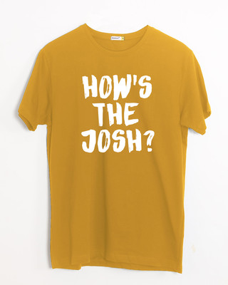 Shop High Josh Half Sleeve T-Shirt-Front