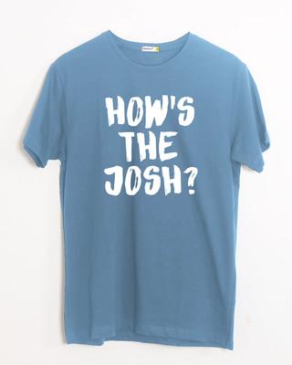 Shop High Josh Half Sleeve T-Shirt-Front
