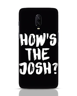 Shop High Josh OnePlus 6 Mobile Cover-Front