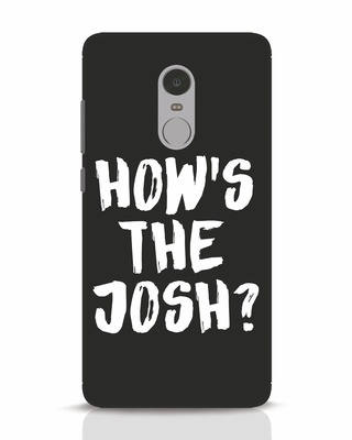 Shop High Josh Xiaomi Redmi Note 4 Mobile Cover-Front