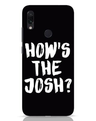 Shop High Josh Xiaomi Redmi Note 7 Mobile Cover-Front