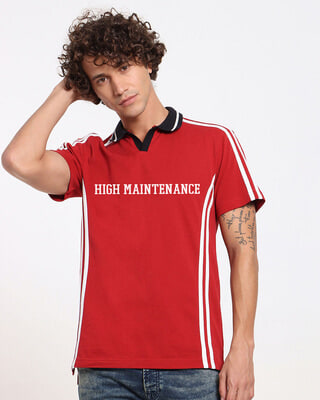 Shop High Maintenance Chili Pepper Polo-Front