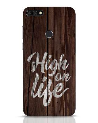 Shop High On Life Huawei Honor 7C Mobile Cover-Front