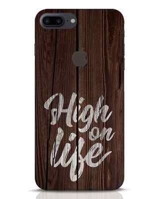 Shop High On Life iPhone 7 Plus Logo Cut Mobile Cover-Front